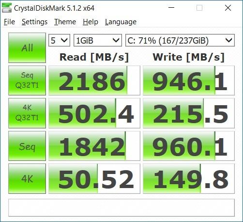 Unlocked 950 Pro performance