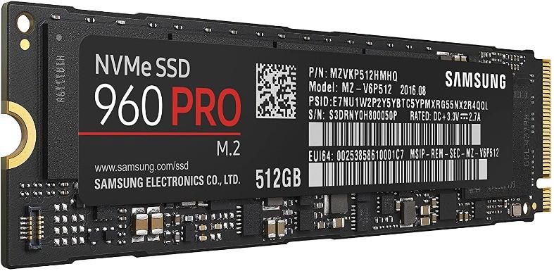 Samsung NVMe 960 PRO 2TB SSD